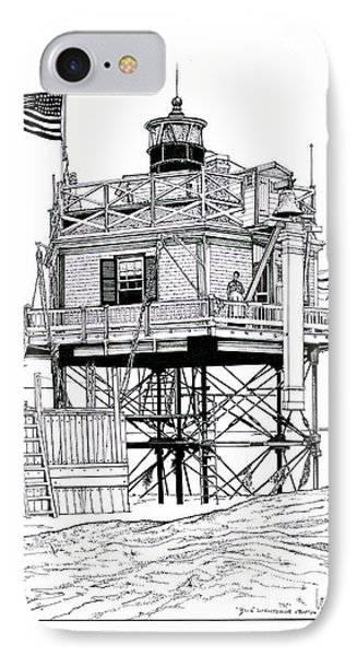 The Boston Narrows Lighthouse IPhone Case
