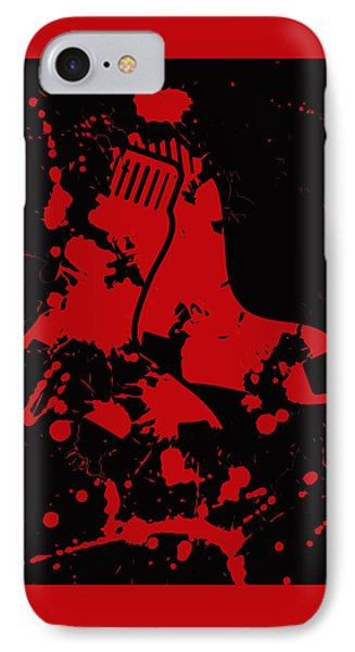 The Boston Red Sox 1b IPhone Case