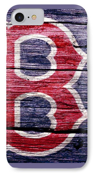 The Boston Red Sox 2b IPhone Case