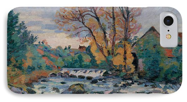 The Bouchardon Mill, Crozant IPhone Case by Jean Baptiste Armand Guillaumin