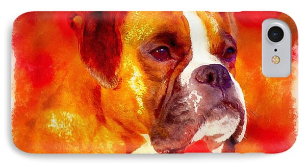 The Boxer IPhone Case by Maciek Froncisz