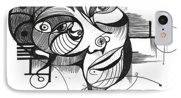 The Boxer Phone Case by Nicholas Burningham