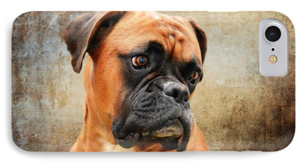 The Boxer IPhone Case by Nichola Denny
