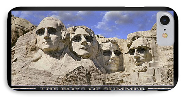 The Boys Of Summer IPhone Case by Mike McGlothlen