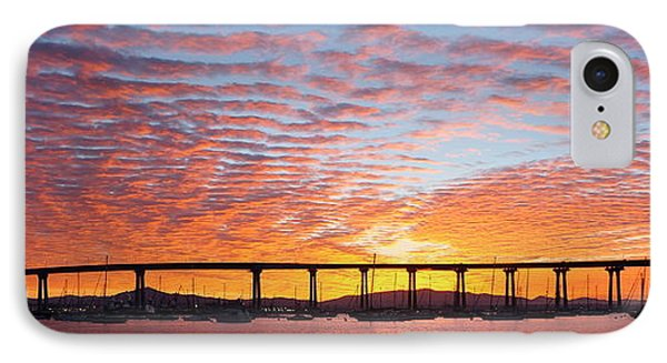 IPhone Case featuring the photograph The Break Of Dawn In Coronado by Jeremy McKay