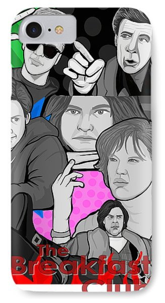the Breakfast Club 30th anniversary Phone Case by Gary Niles