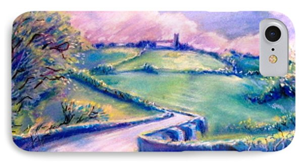 The Bridge Below Hacketstown  Phone Case by Trudi Doyle