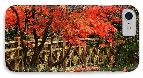 The Bridge In The Park IPhone Case by Connie Handscomb