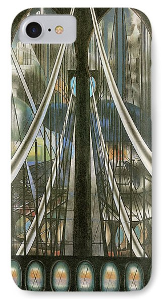 The Bridge New York IPhone Case by Joseph Stella