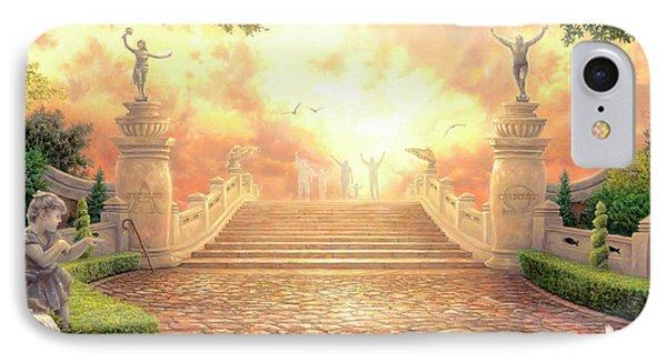 Jesus iPhone 7 Case - The Bridge Of Triumph by Chuck Pinson