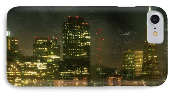 The Bright City Lights Phone Case by Laurie Search