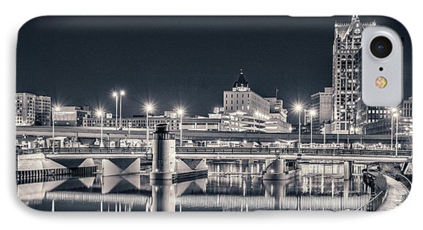 IPhone 7 Case featuring the photograph The Bright Dark Of Night by Bill Pevlor