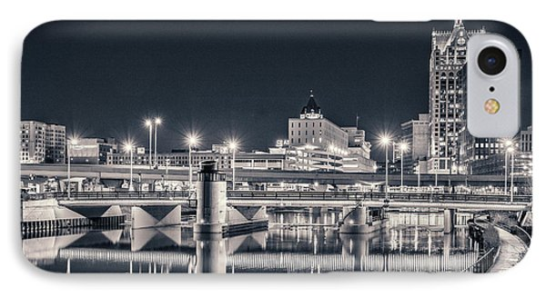 IPhone Case featuring the photograph The Bright Dark Of Night by Bill Pevlor