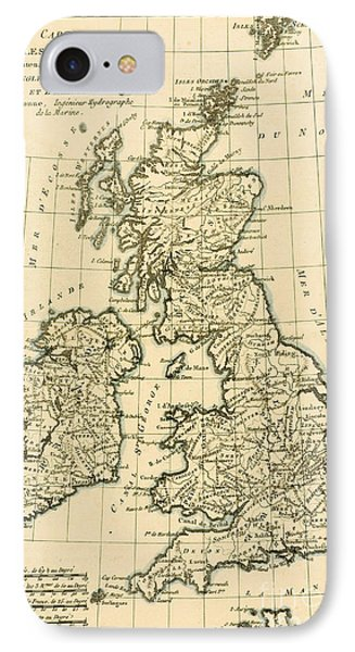 The British Isles Phone Case by Guillaume Raynal