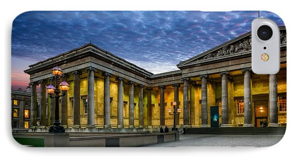 The British Museum IPhone Case by Adrian Evans