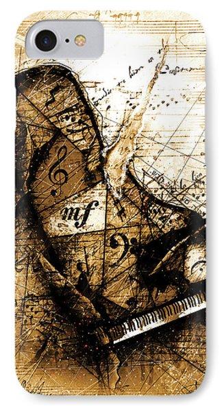 The Broken Harp IPhone Case by Gary Bodnar