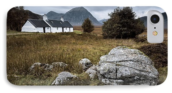 Blackrock And The Buachaille IPhone Case by Dave Bowman