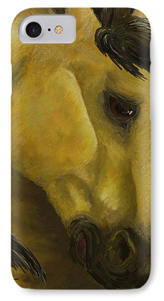 The Buckskin Revisited IPhone Case by K Simmons Luna