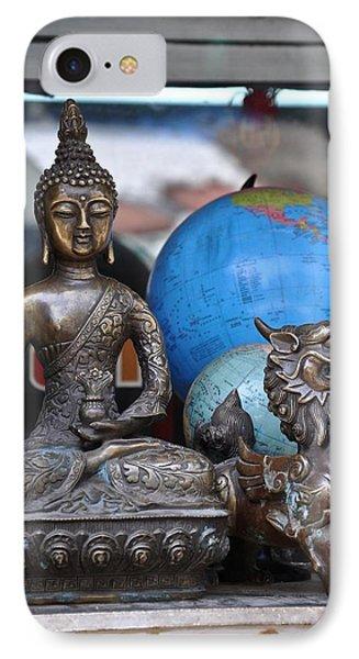 The Buddha's World  IPhone Case