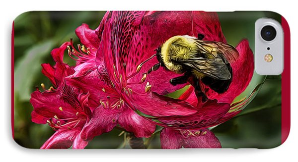 The Bumble Bee IPhone Case by Mark Allen