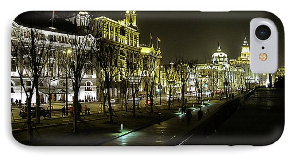 The Bund - Shanghai's Famous Waterfront Phone Case by Christine Till