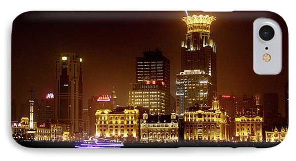 The Bund - Shanghai's Magnificent Historic Waterfront Phone Case by Christine Till