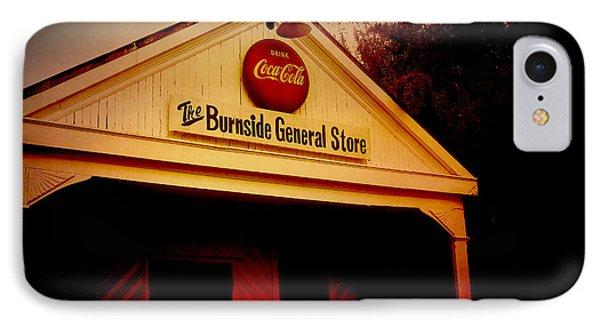 The Burnside General Store Phone Case by Scott Pellegrin
