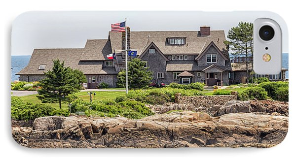 The Bush Compound Kennebunkport Maine IPhone 7 Case by Brian MacLean