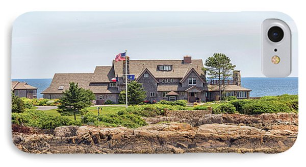 The Bush Family Compound On Walkers Point IPhone Case by Brian MacLean