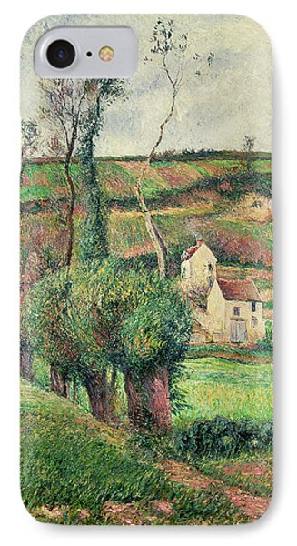 The Cabbage Slopes IPhone Case by Camille Pissarro