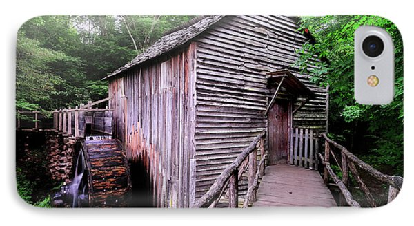 The Cable Grist Mill IPhone Case by Thomas Schoeller