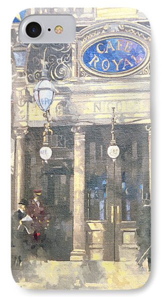 The Cafe Royal IPhone Case by Peter Miller