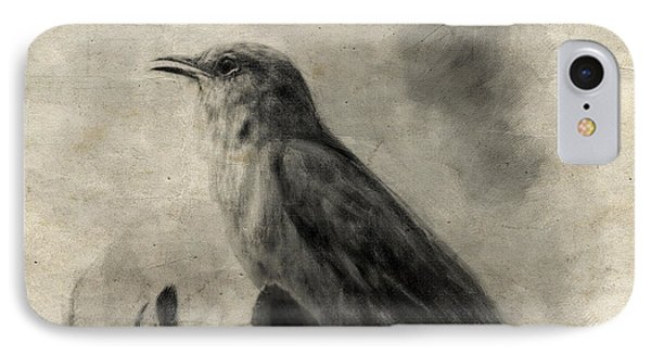 The Call Of The Mockingbird IPhone 7 Case by Jai Johnson