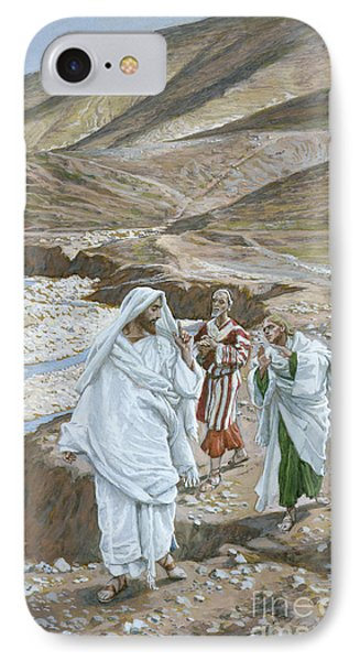The Calling Of St. Andrew And St. John Phone Case by Tissot