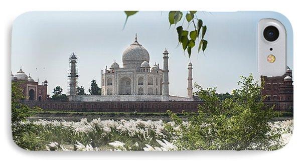 The Calm Behind The Taj Mahal IPhone Case