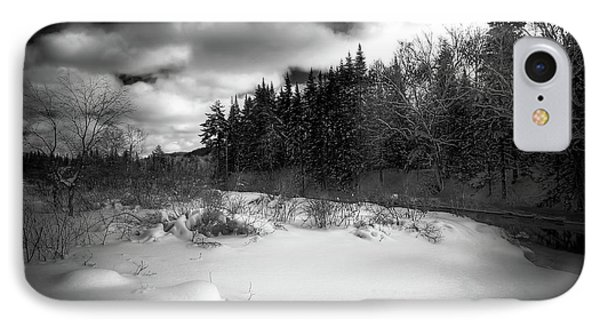 IPhone Case featuring the photograph The Calm Of Winter by David Patterson