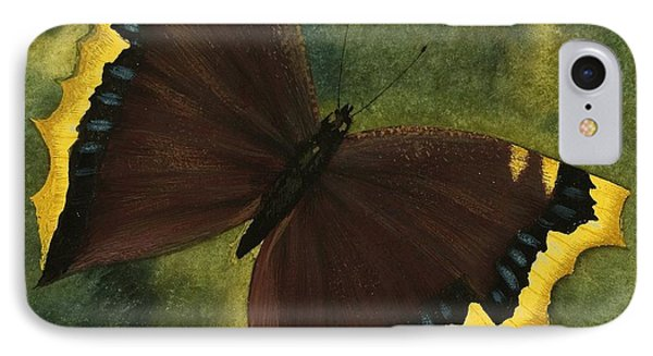 The Camberwell Beauty Or The Mourning Cloak IPhone Case