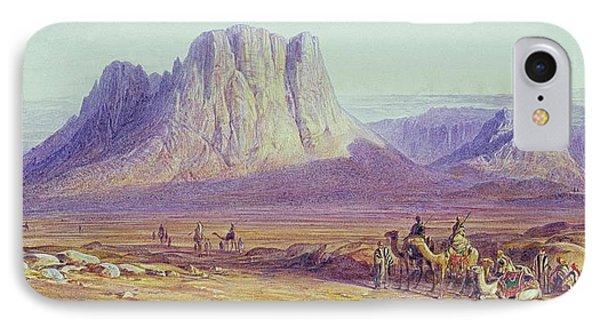 The Camel Train Phone Case by Edward Lear