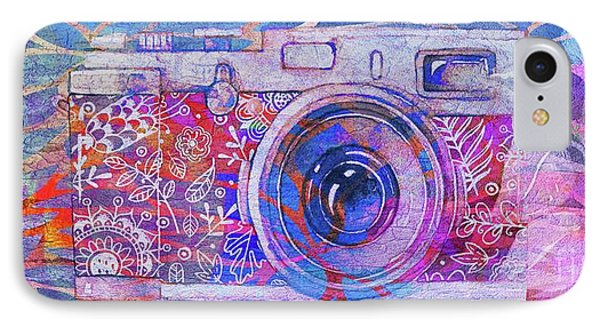 IPhone Case featuring the digital art The Camera - 02c3t by Variance Collections