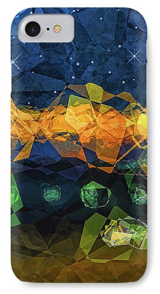 The Campsite Phone Case by Wendy J St Christopher