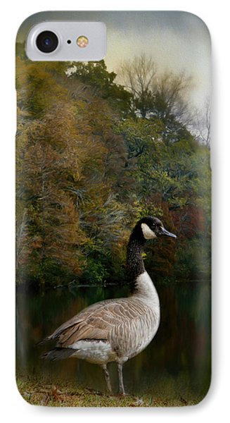 The Canadian Goose IPhone 7 Case by Jai Johnson