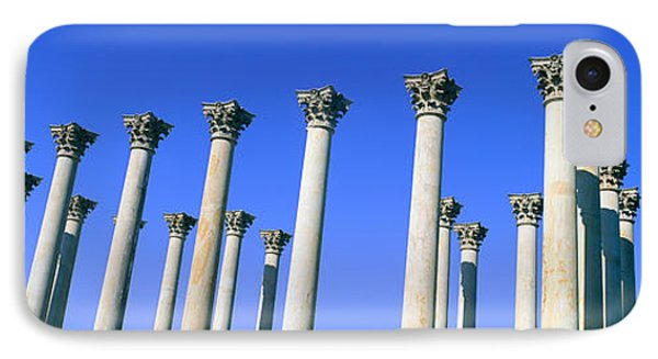 The Capitol Columns Of The United IPhone Case by Panoramic Images