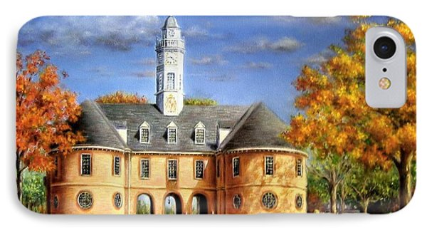 The Capitol In Autumn IPhone Case by Gulay Berryman