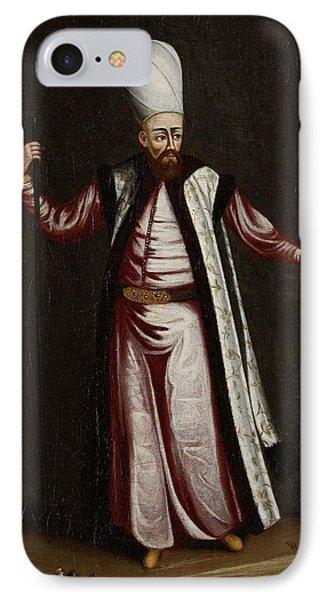 The Capoudgi Bachi, Grand-master Of The Seraglio, Jean Baptiste Vanmour, 1700 - 1737 IPhone Case