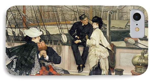 The Captain And The Mate Phone Case by Tissot