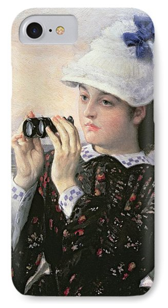 The Captain's Daughter IPhone Case by Tissot