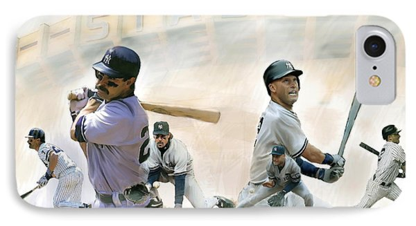 The Captains II Don Mattingly And Derek Jeter IPhone Case