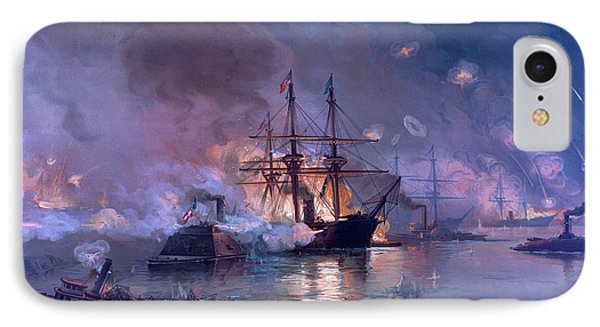 The Capture Of New Orleans During The Civil War IPhone Case by American School