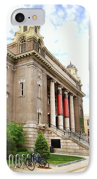 The Carnegie Library Phone Case by Debra Millet