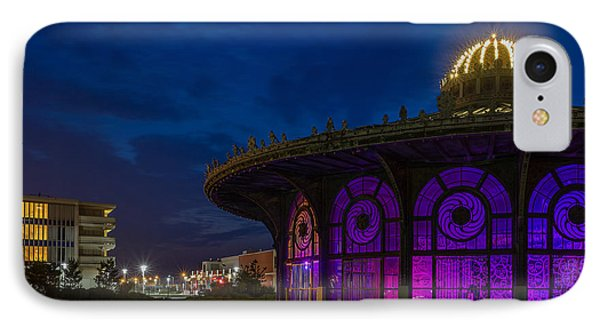 The Carousel Roundhouse At Asbury Park IPhone Case by Capt Gerry Hare